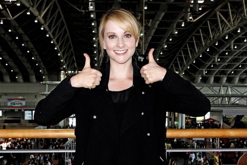 Melissa Rauch auf der MCM Hannover Comic Con: Sie spielt Bernadette, die Frau von Howard.