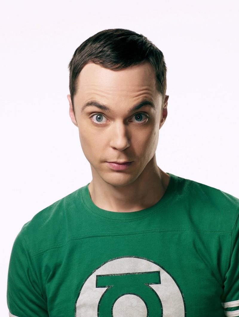 """Sheldon Cooper denkt sich die Serie ,,Spaß mit Flaggen"""" aus."""