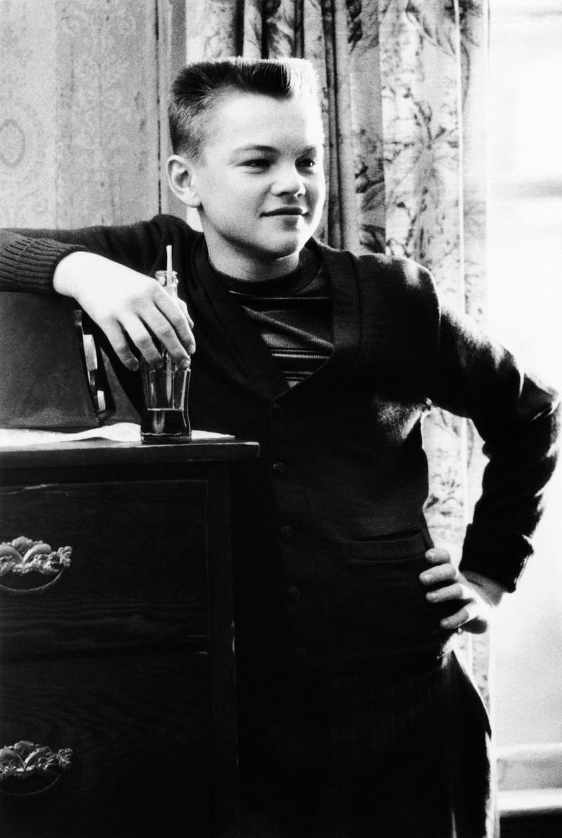 Akteur Leonard DiCaprio in jungen Jahren. Kaum wiederzuerkennen ist er in einer seiner ersten Rolle.
