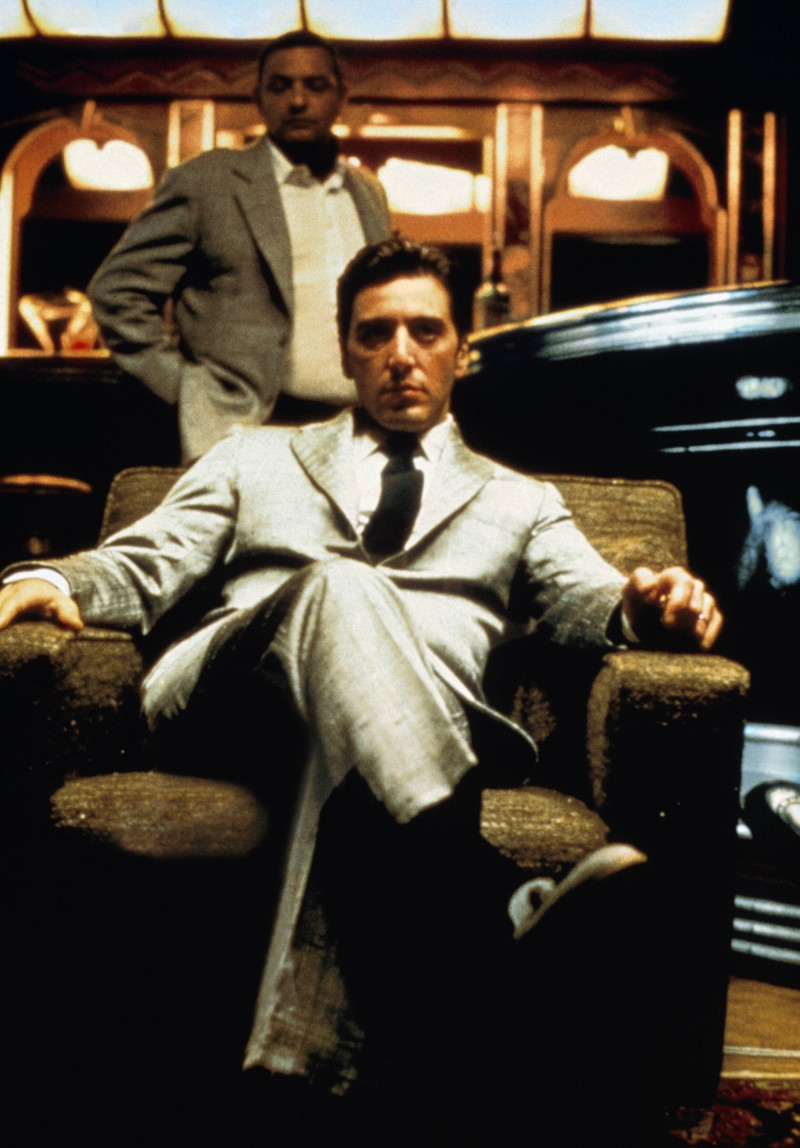 Al Pacino in seiner ersten größeren Rolle, die er bereits 1972 spielte. Unglaublich, wie er inzwischen aussieht.