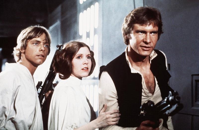 "Der junge Harisson Ford als Darsteller des ""Han Solo""."