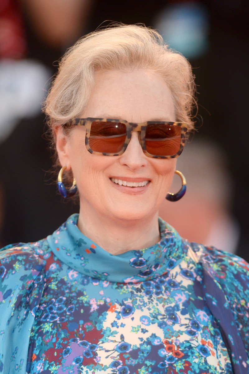 Schauspielerin Meryl Streep beim Venice Film Festival 2019. Vor allem äußerlich hat sich Streep ganz schön gewandelt.