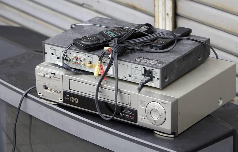 Ein Videorekorder, mit dem man in den 90ern Filme gucken konnte