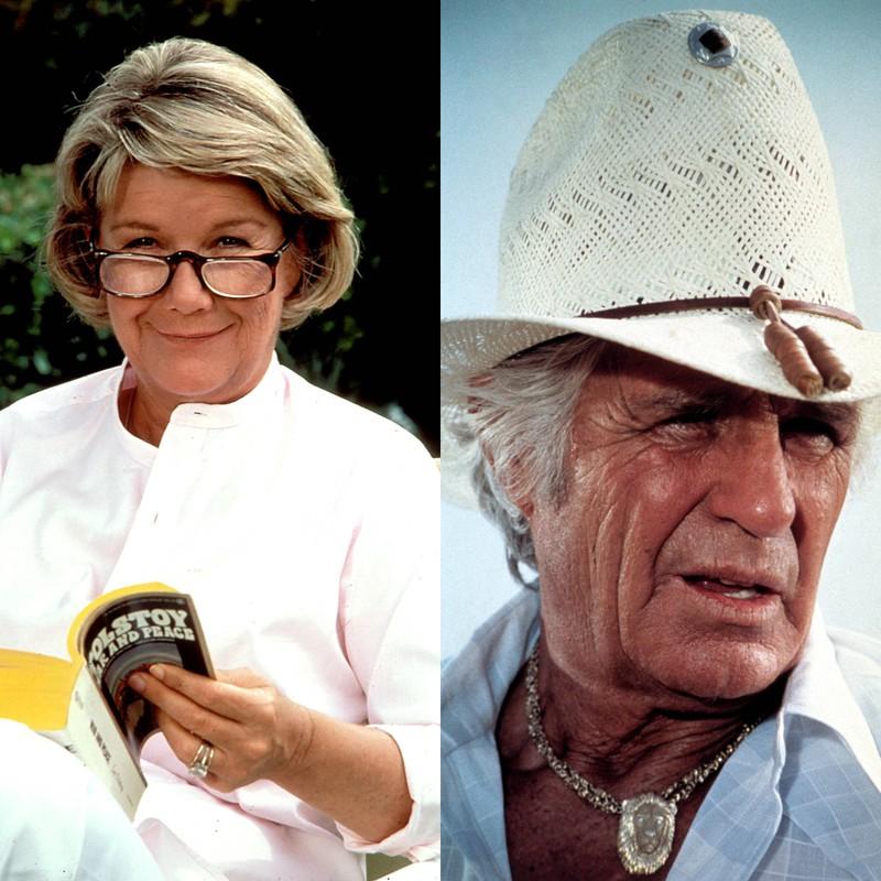 """Barbara Bel Geddes und Jim Davis  waren sehr erfolgreiche Schauspieler, bekannt aus """"Dallas"""" und verstorben im Jahr 2005 und im Jahr 1981"""