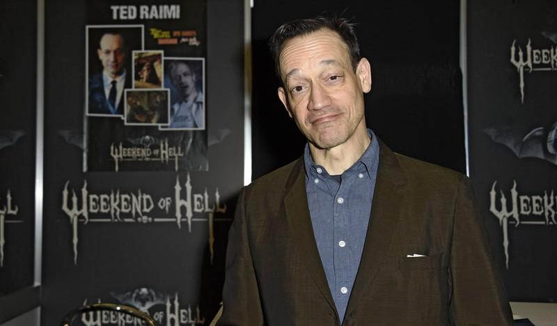 Der Schauspieler Ted Raimi war ein Gast bei Weekend of Hell.