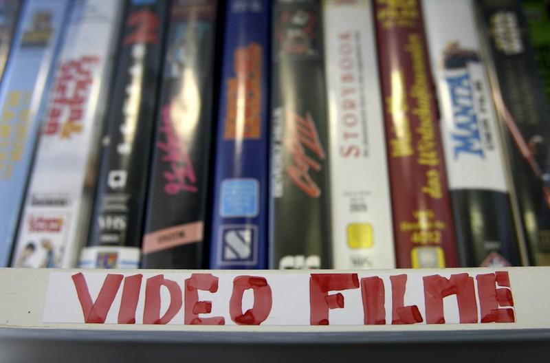Wir waren wir stolz auf Dinge, wie unsere Videofilm-Sammlung