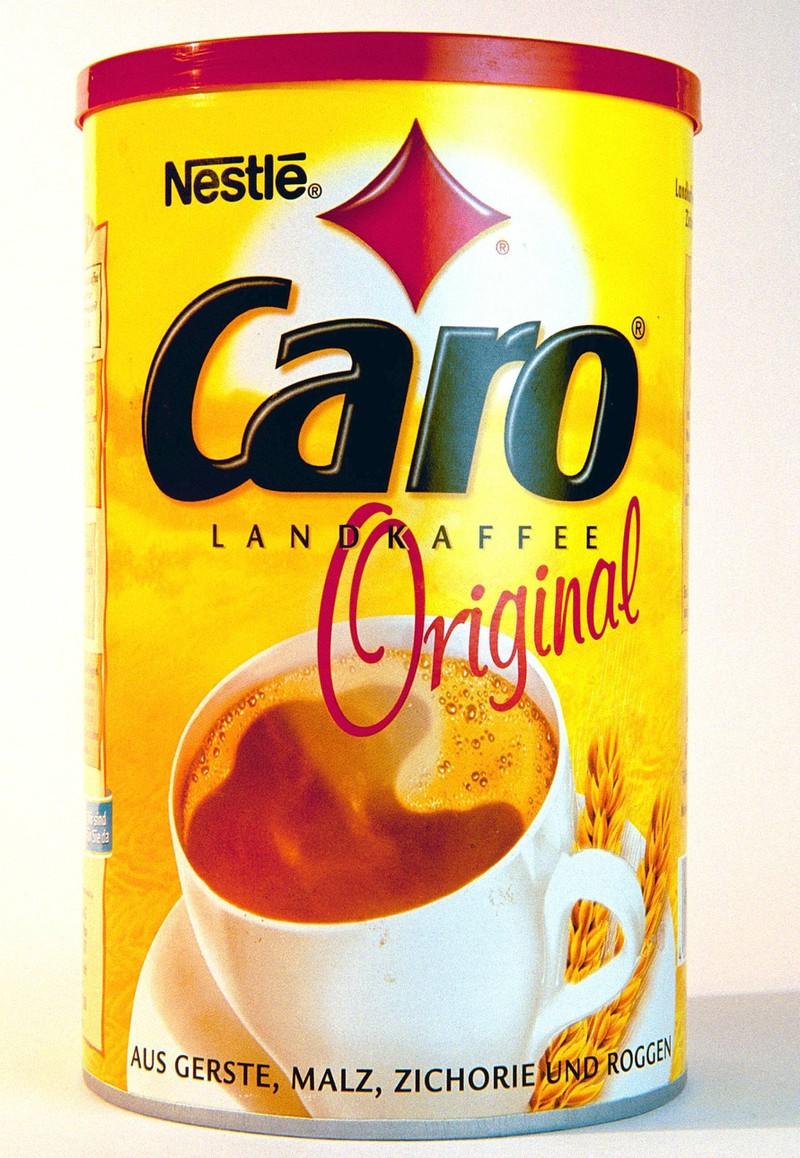 Der Caro Kaffee war damals ein Lieblingsgetränk von vielen.