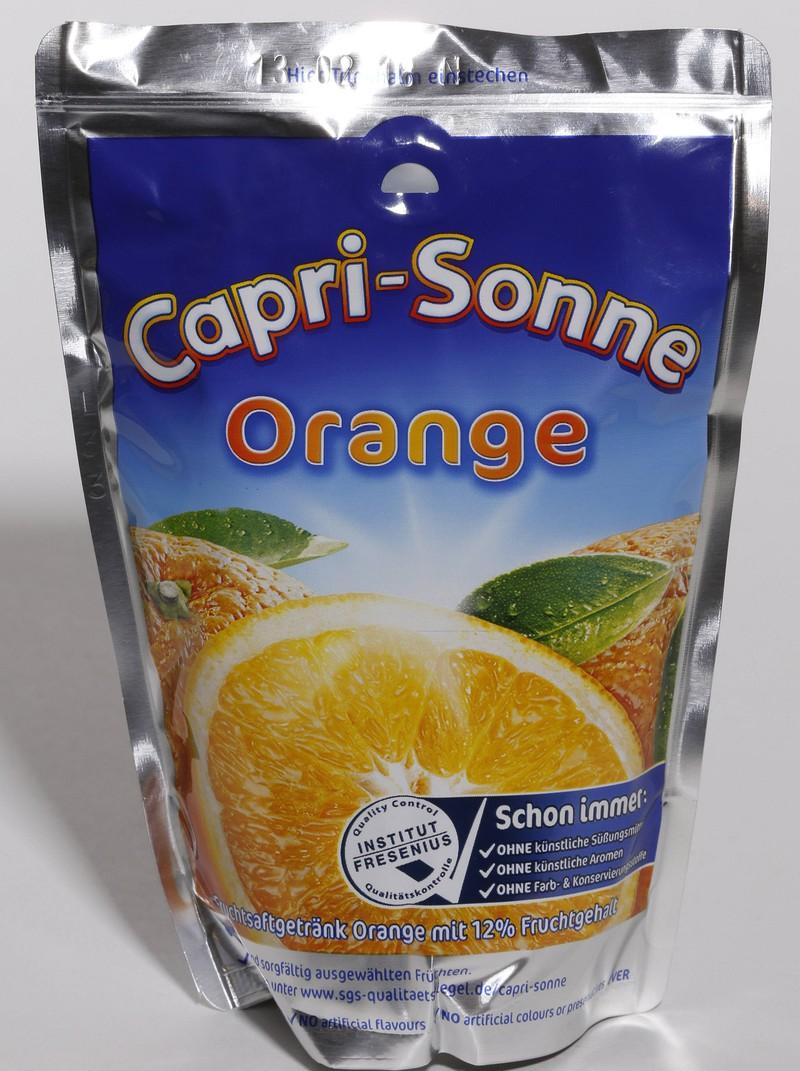 Die Capri Sonne war ein Getränk der Kindheit.