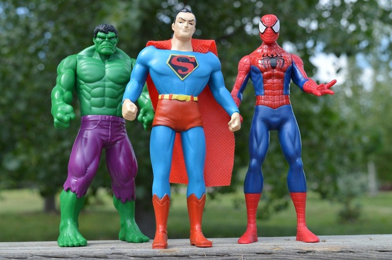 Superhelden lassen sich gerade bei Kindern hervorragend vermarkten.