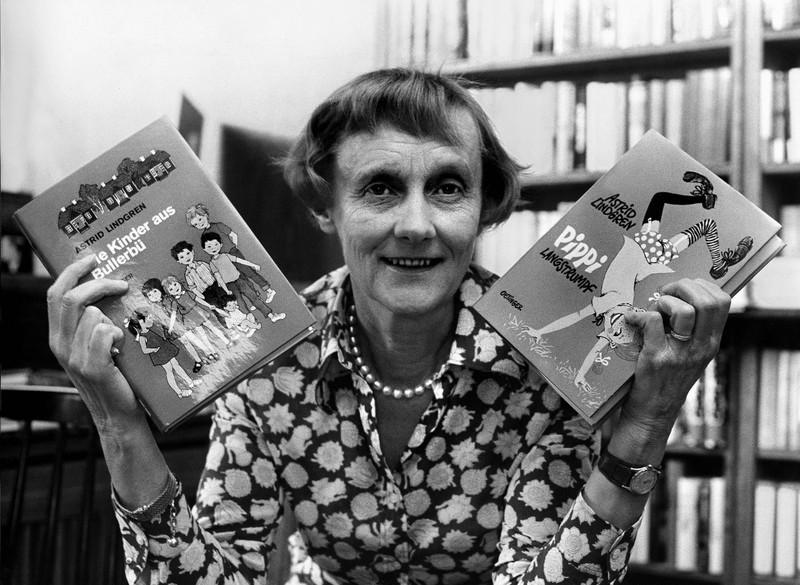 """Astrid Lindgren bleibt durch """"Pippi Langstrumpf"""" unvergessen."""