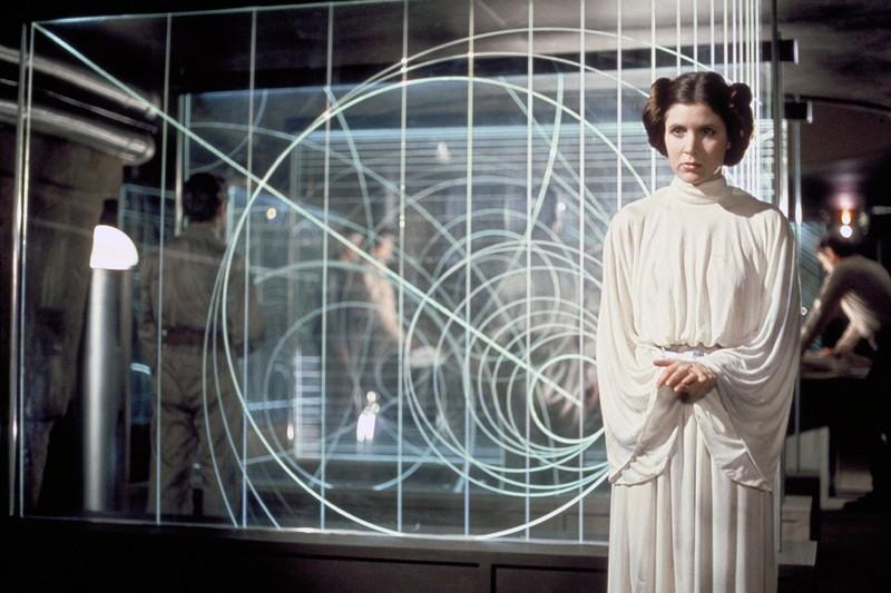 """Carrie Fisher war als """"Prinzessin Leia"""" eine wahre Heldin unserer Kindheit."""