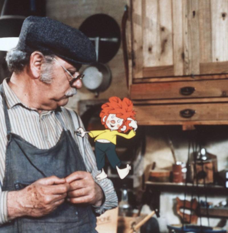 """Gustl Bayrhammer hat als """"Meister Eder und sein Pumuckl"""" unsere Kindheit verschönert."""
