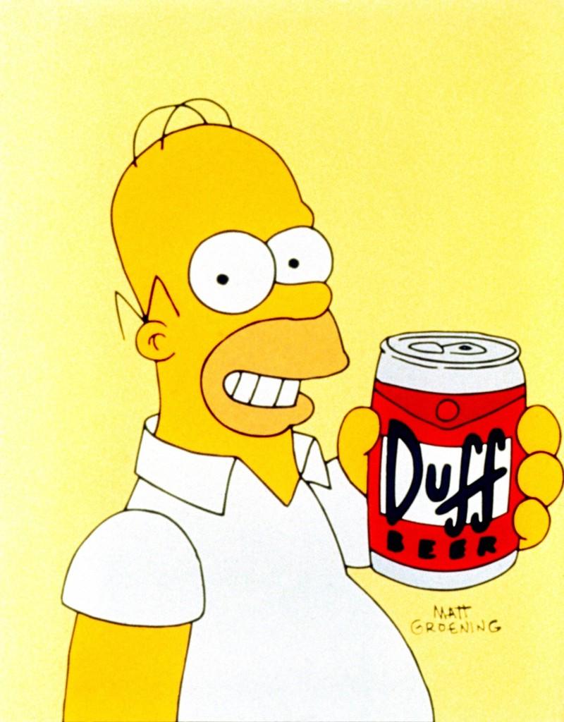 Duff ist das Lieblinsgbier von Homer, wie Fans des Rätsels wissen