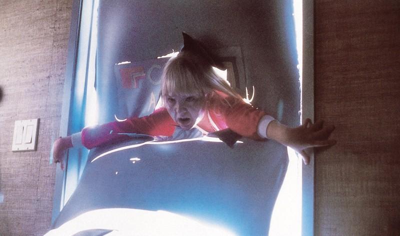 """Heather O'Rourke, die in """"Poltergeist"""" ein kleines Mädchen spielte"""
