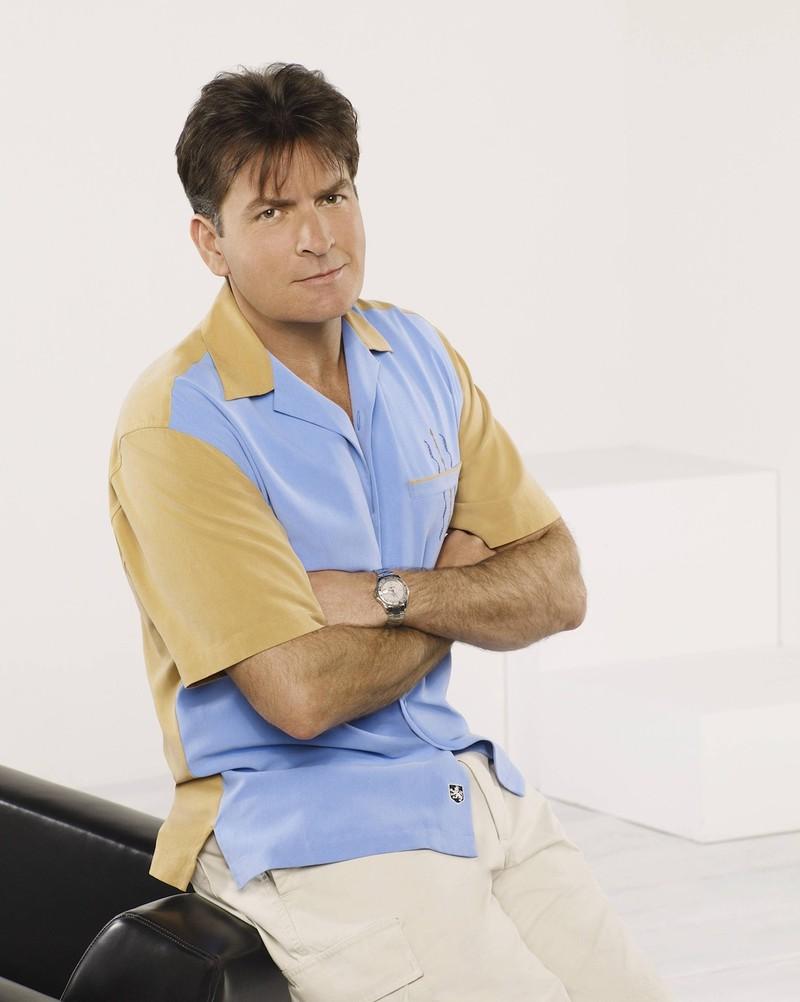 Charlie Sheen war Hauptcharakter der Serie Two and a Half Men.