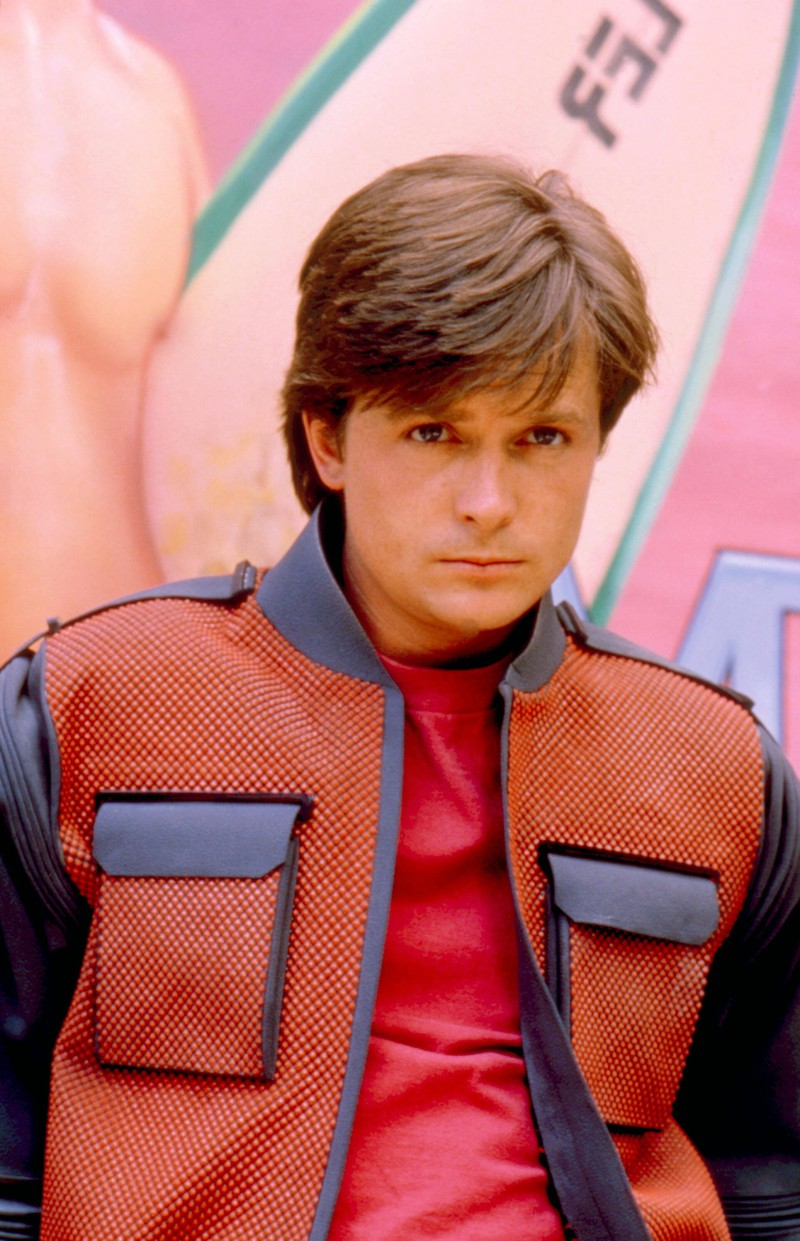 Der gut aussehende Marty McFly wurde zur Kultfigur der 80er und 90er.