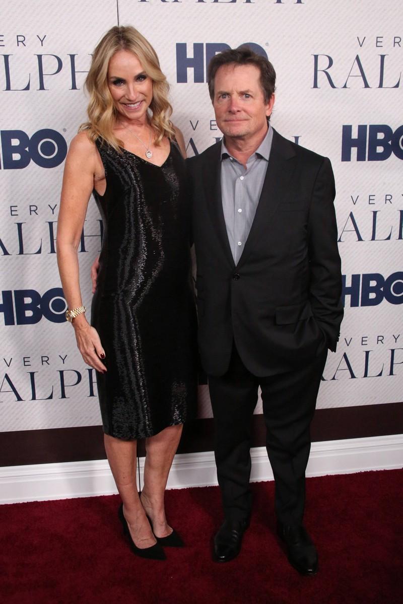 Michael J. Fox ist auch heute noch mit seiner Frau Tracy Pollan zusammen.