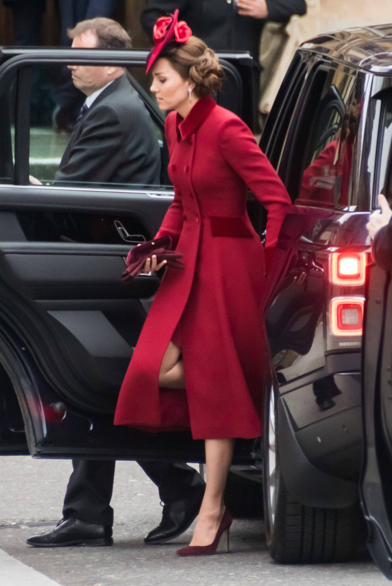 """Catherine Elizabeth """"Kate"""" Middleton, ist die Ehefrau von Prinz William (Herzogin von Cambridge)."""