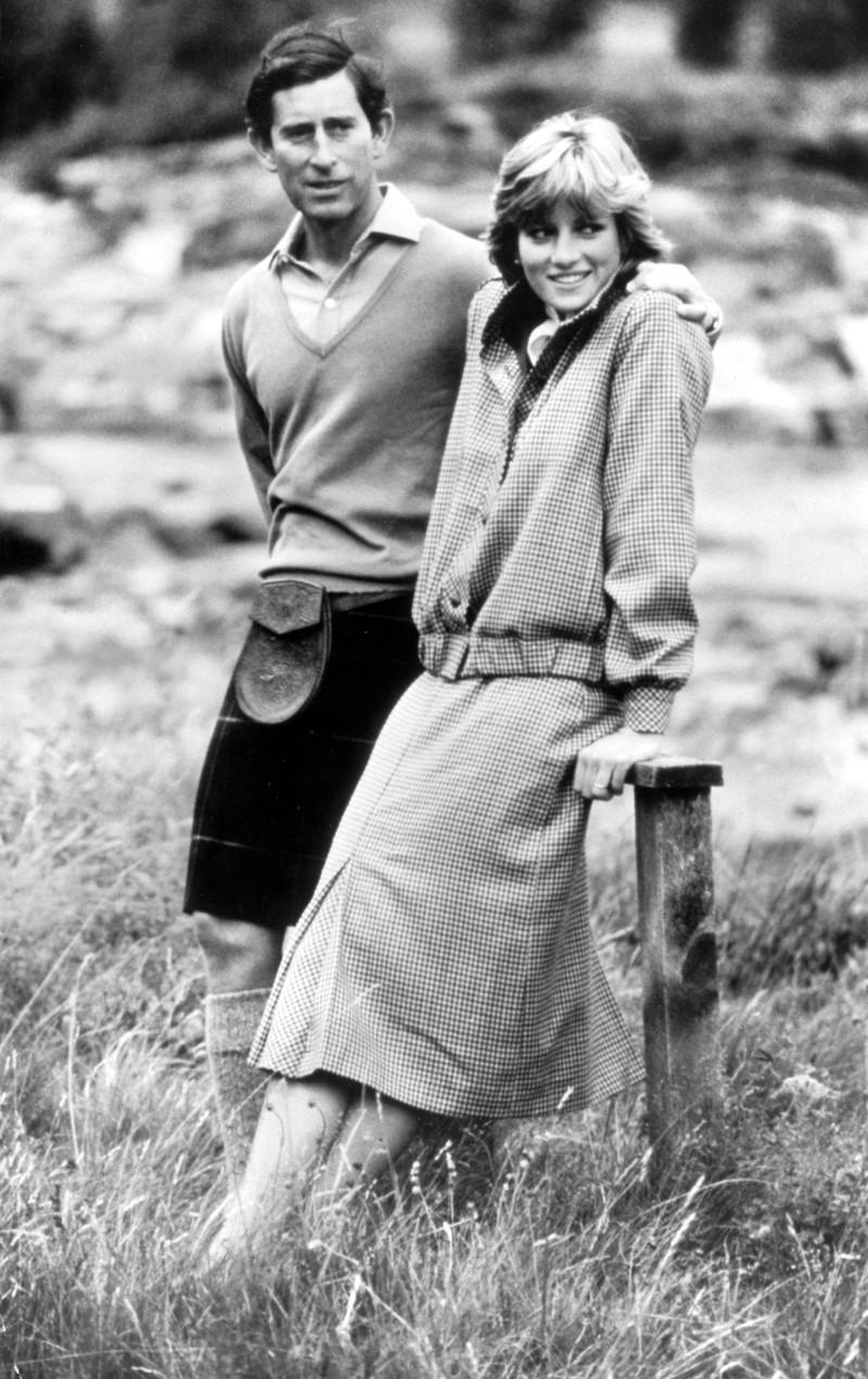 Prinzessin Diana und Prinz Charles heirateten 1981.