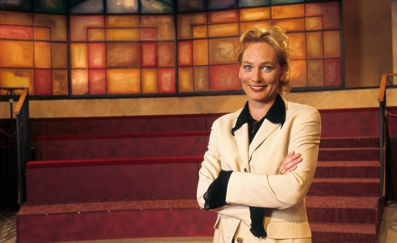 Moderatorin Bärbel Schäfer in der Show