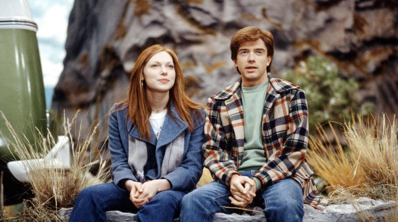 """Die Serie """"Die wilden Siebziger"""" und ihre Hauptdarsteller Eric Foreman und Donna"""
