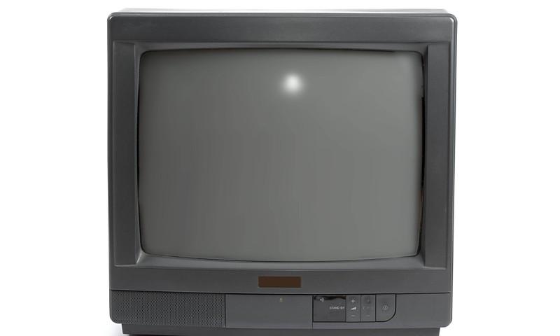 Ein alter Fernseher aus den 90er Jahren
