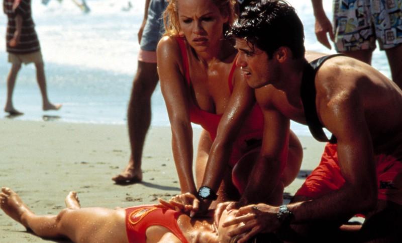 Pamela Anderson in der Serie Baywatch