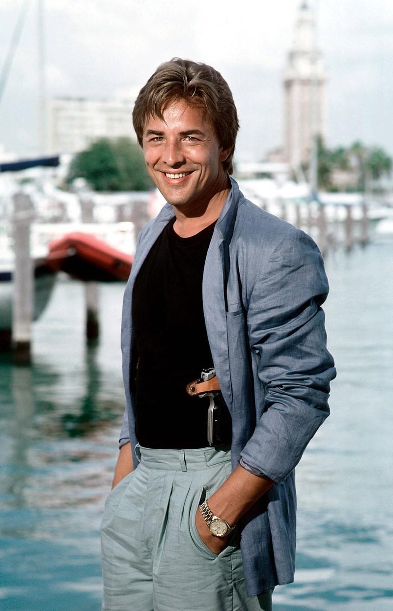 Don Johnson war von 1984-1989 der Star in Miami Vice