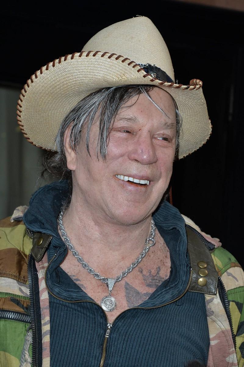 Mickey Rourke verschwand für etwa zehn Jahre aus der Öffentlichkeit.
