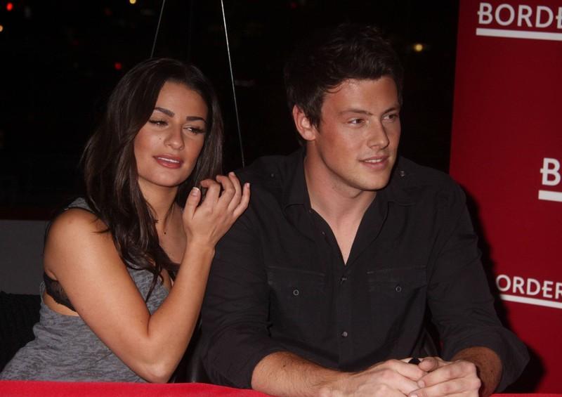 """Die beiden """"Glee""""-Stars waren auch im echten Leben liiert."""