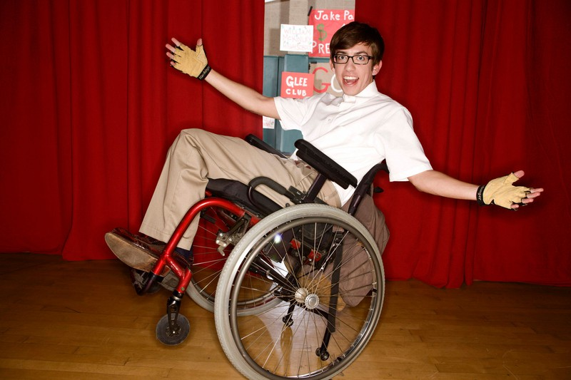 """Von 2009 bis 2015 spielte McHale bei ,,Glee"""" den querschnittgelähmten Artie Abrams"""