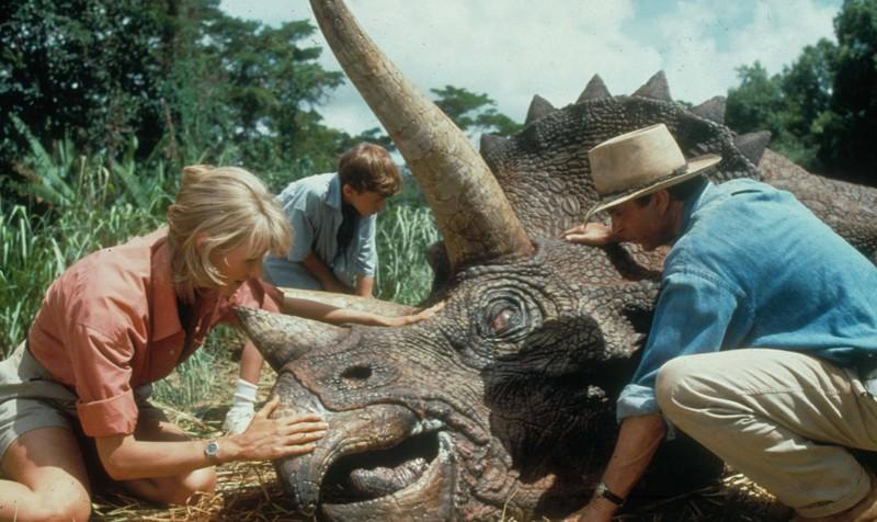 Am Set von Jurassic Park