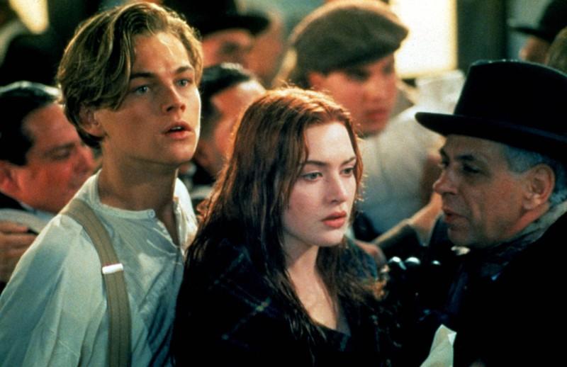 Rose und Jack bei Titanic