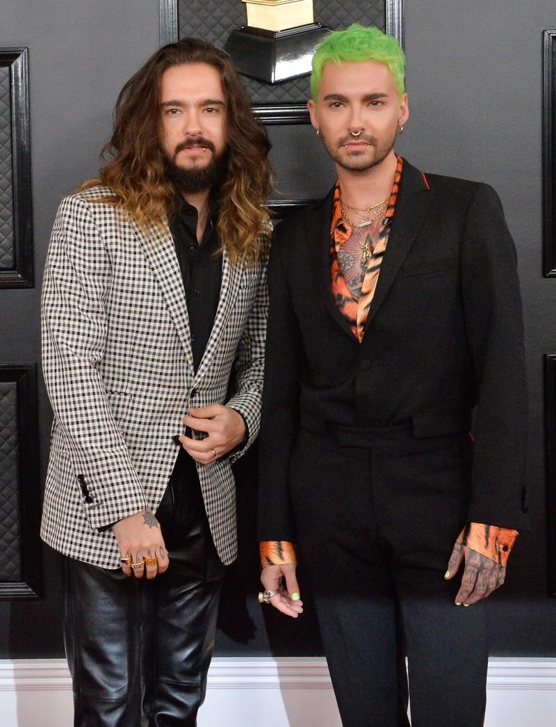 """Tom Kaulitz und Bill Kaulitz wurden mit ihrer Band ,,Tokio Hotel"""" berühmt"""
