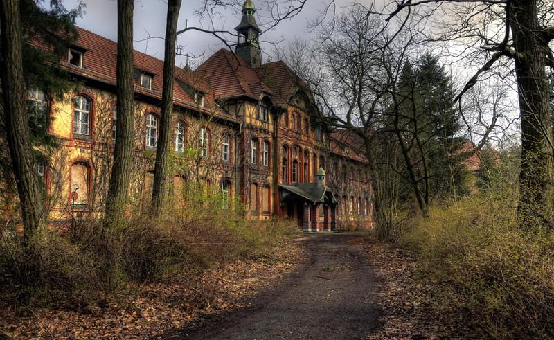 Das Gebäude der Heilstätte-Beelitz