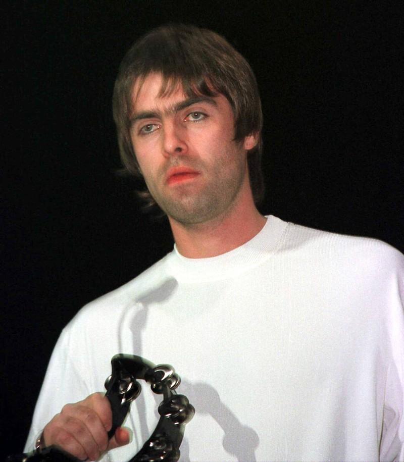 Das Bandmitglied Liam Gallagher.