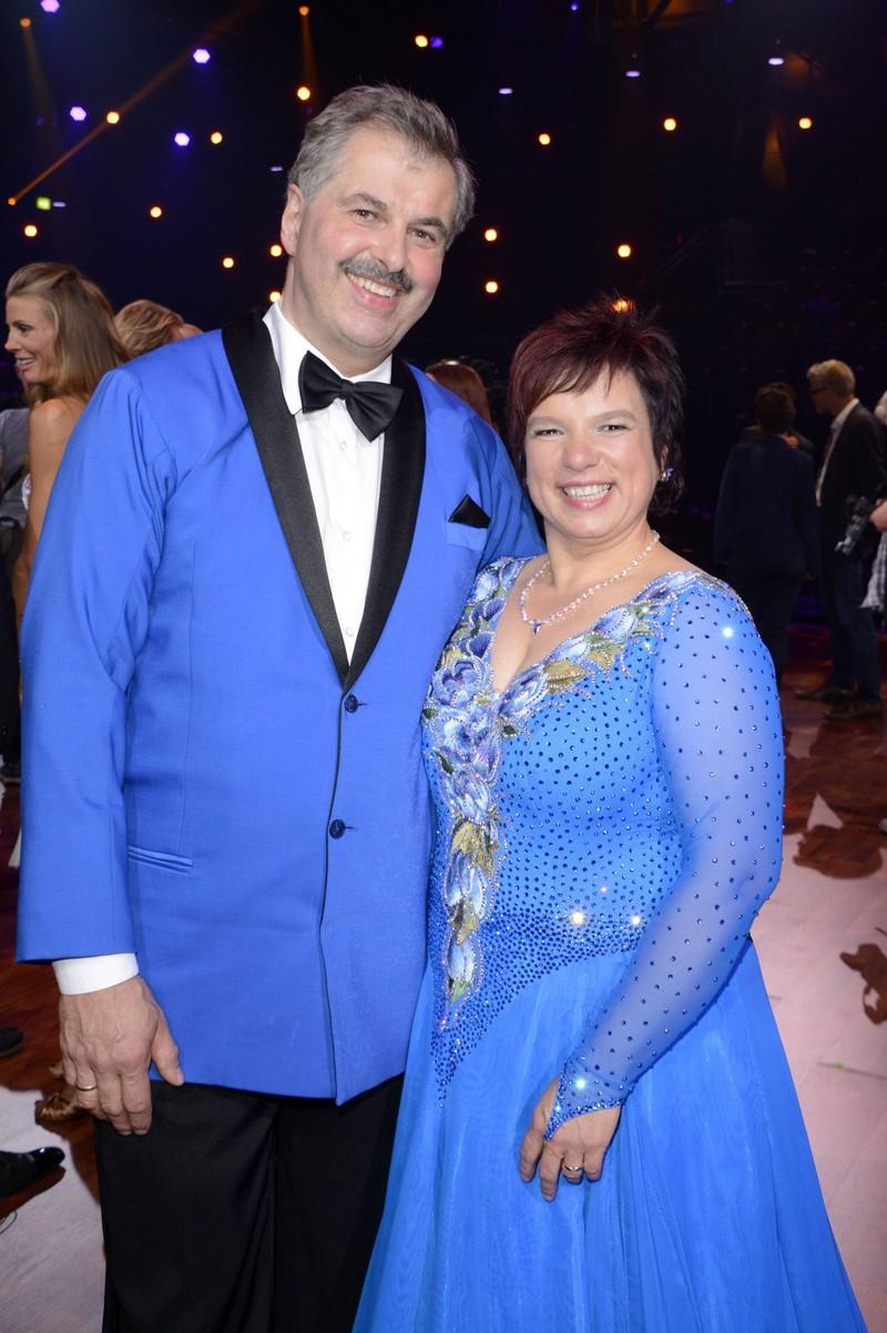 """2015 nahm Bauer Bruno und Anja an der Tanzshow """"Stepping Out"""" teil"""