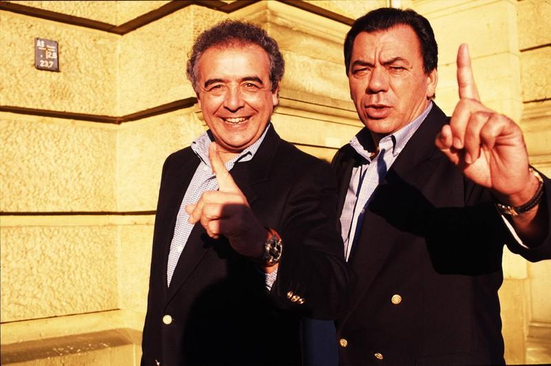 """Los del Rio"" sangen in den 90ern den Hit ""Macarena""."