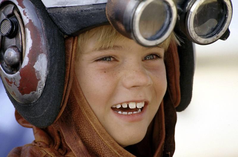 Als Kind wurde Anakin Skywalker von Jake Lloyd gespielt