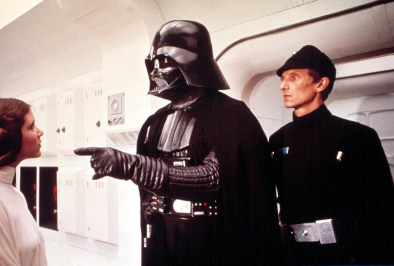 Darth Vader ohne Maske kann man sich fast gar nicht vorstellen