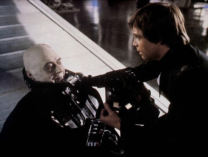 Sebastian Shaw spielte auch Darth Vader ohne Maske