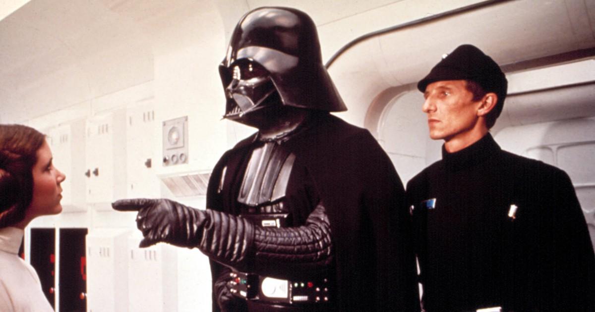 """""""Darth Vader"""": So sieht er ohne Maske aus"""