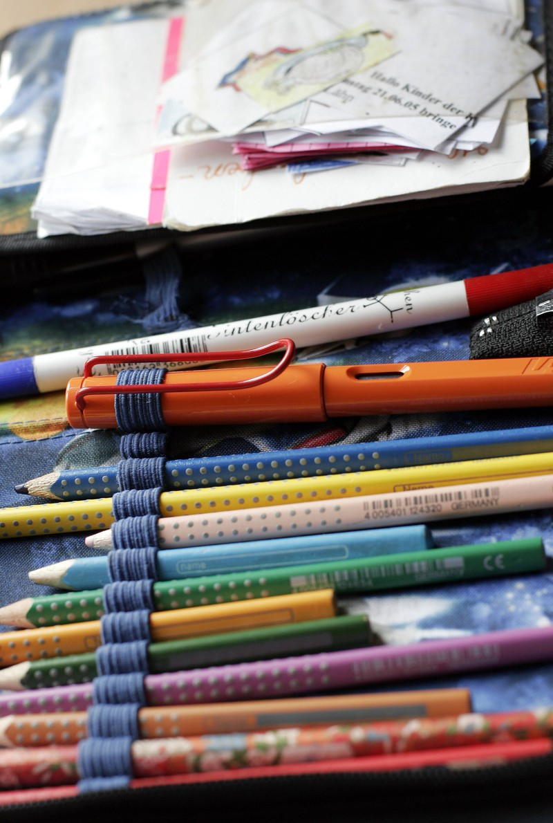 Der Tintenkiller ist etwas, das viele Grundschüler damals hatten.