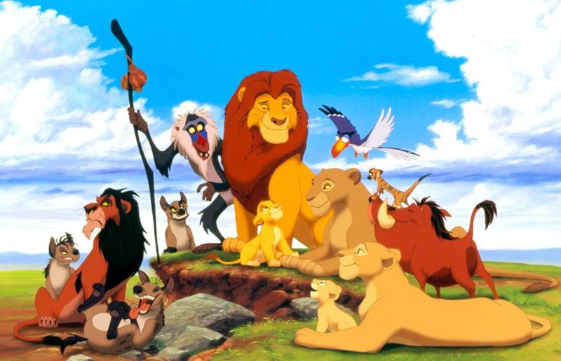 """""""König der Löwen"""" ist einer unserer Lieblingsfilme von früher, die Figuren verzauberten uns."""