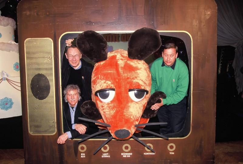 """Das damalige Team der """"Sendung mit der Maus"""""""
