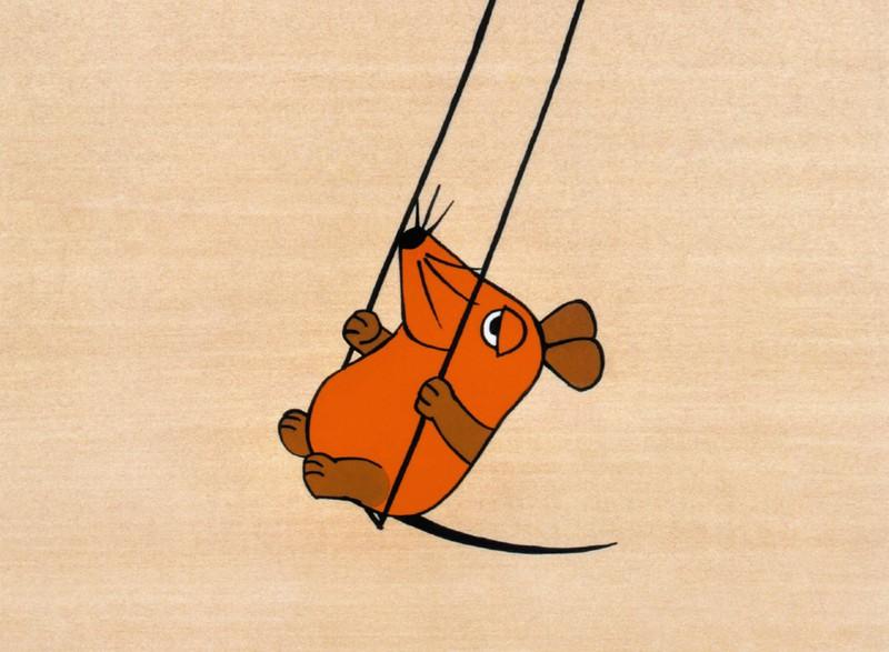 """Die Illustration der Maus von """"Die Sendung mit der Maus"""" aus dem Jahr 1971"""