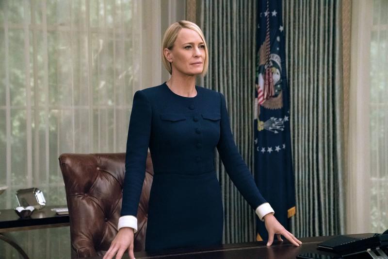 Claire Underwood ist eine weitere bekannte Rolle von Robin Wright