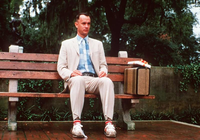 Im Film war Tom Hanks der Darsteller von Forrest Gump.