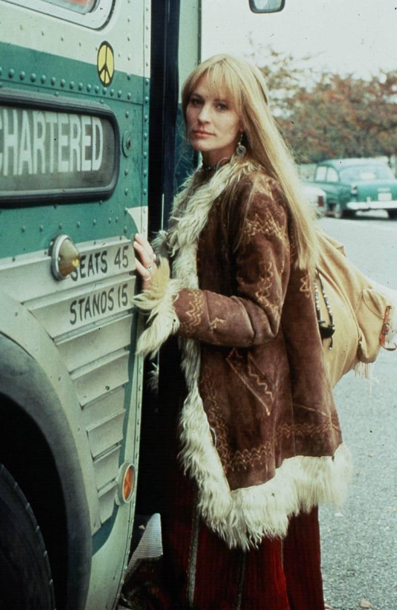 Robin Wright spielte Jenny Curran in Forrest Gump
