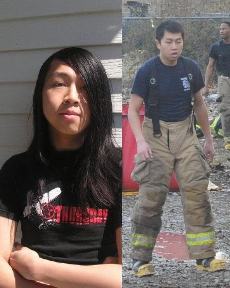 Ein Ex-Emo ist heute Feuerwehrmann